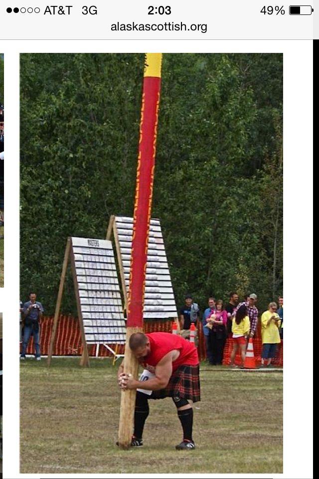 Scottish Highland games. Palmer Alaska