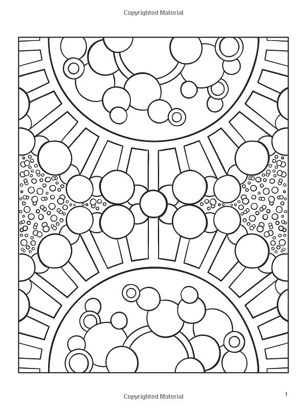 Organic Designs Coloring Book (Dover Coloring Books): Jessica ...