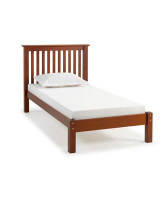 Barcelona Twin Bed Brown Products Furniture Wood Twin Bed Y