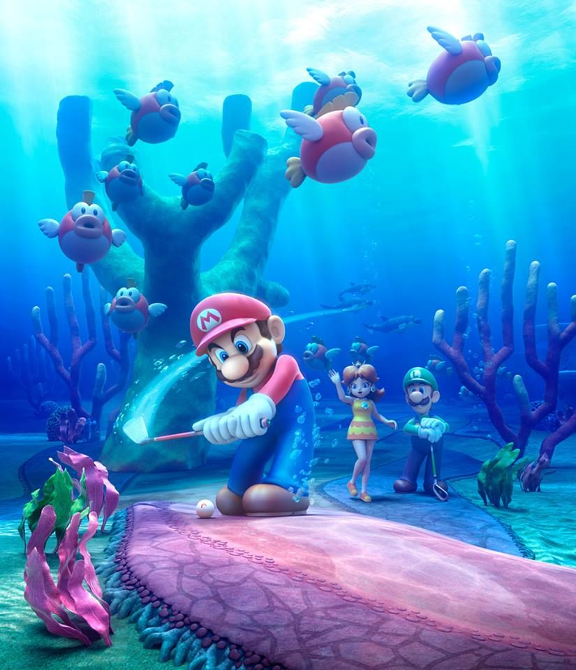 The Newest Course For Mariogolf World Tour Was Revealed By