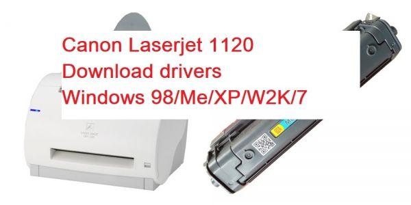 GRATUIT XP TÉLÉCHARGER WINDOWS CANON LASER SHOT DRIVER 1120 LBP