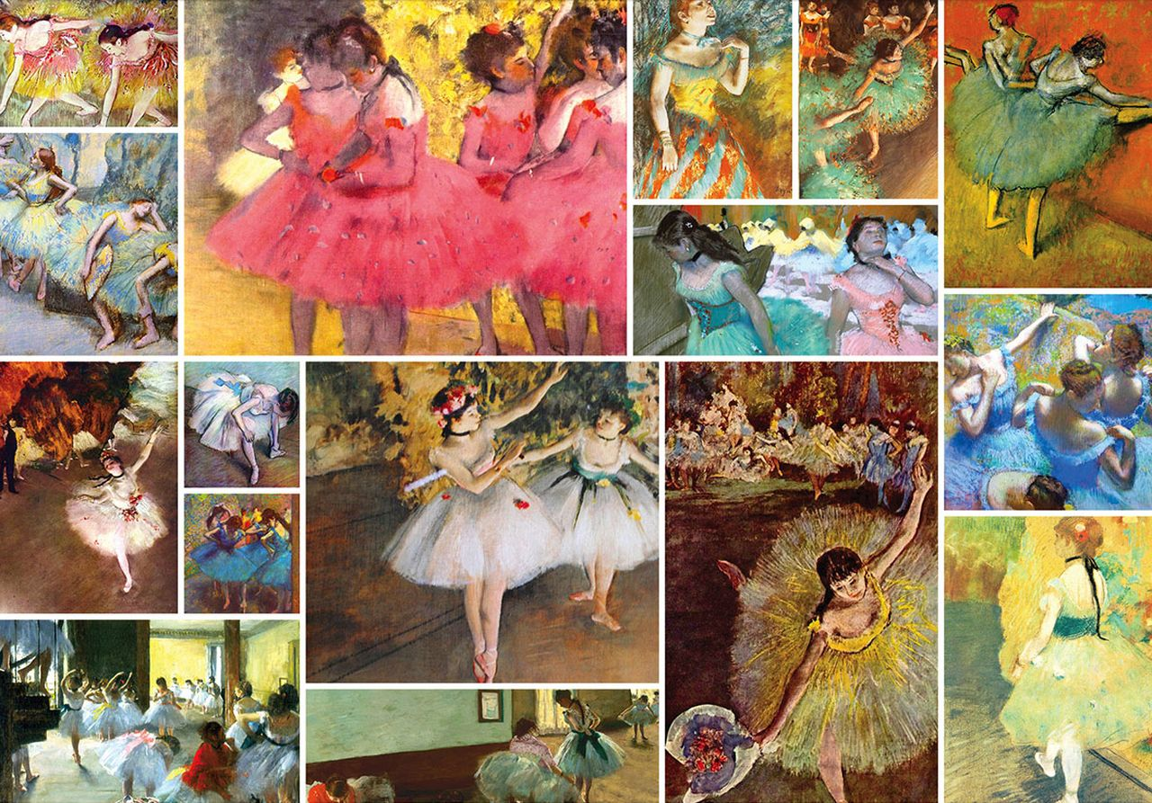 Degas 1500pc Jigsaw Puzzle By Remarks NEW in 2020
