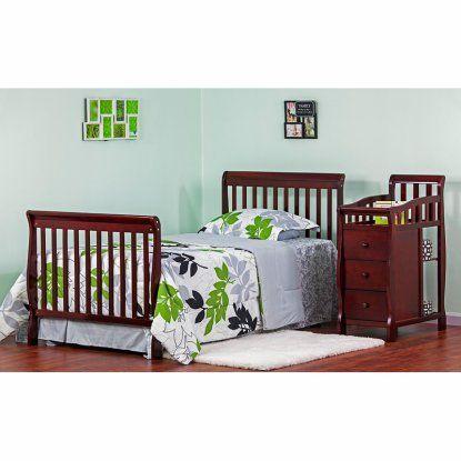 Dream On Me Jayden 4 In 1 Mini Convertible Crib And Changer Convertible Crib Cribs Baby Cribs For Sale