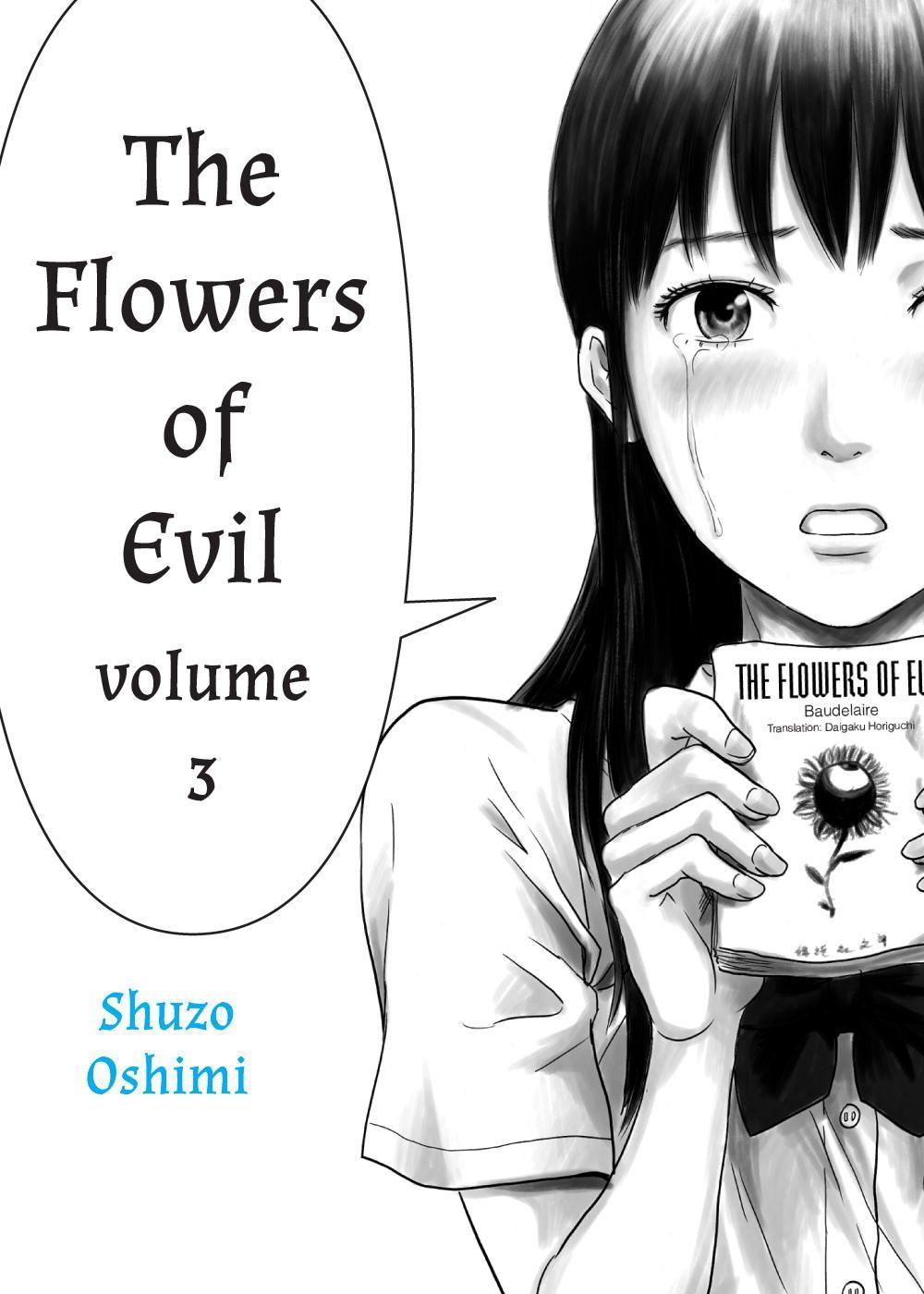 Shuzo Oshimi's manga The Flowers of Evil part 3 10.95