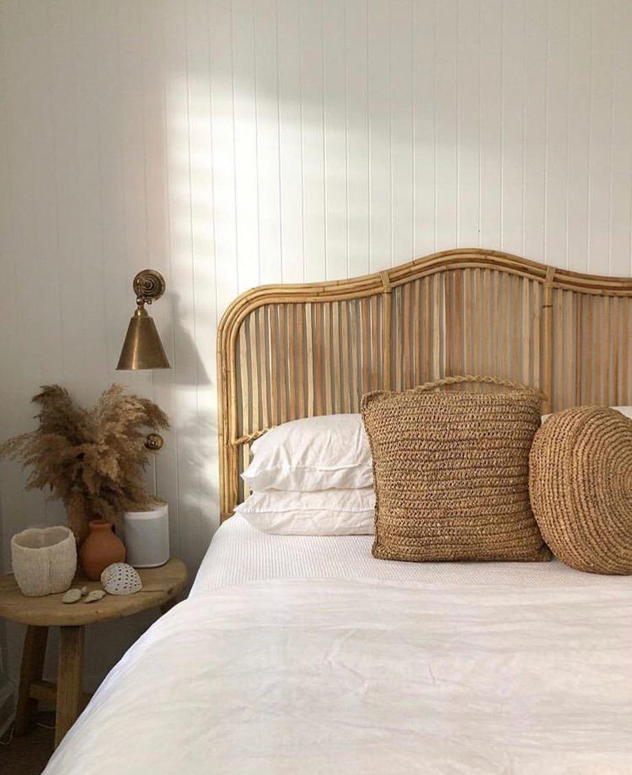 minimalist neutral bohemian bedroom decor #neutraldecor # ... on Neutral Minimalist Bedroom Ideas  id=22787