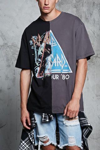 94117b8a9440ab Def Leppard Split-Graphic Tee | LiveNation Merchandise | Streetwear ...