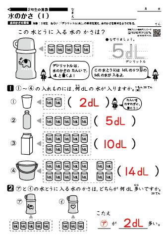 ミリリットル デシリットル 体積の換算|単位換算|計算サイト