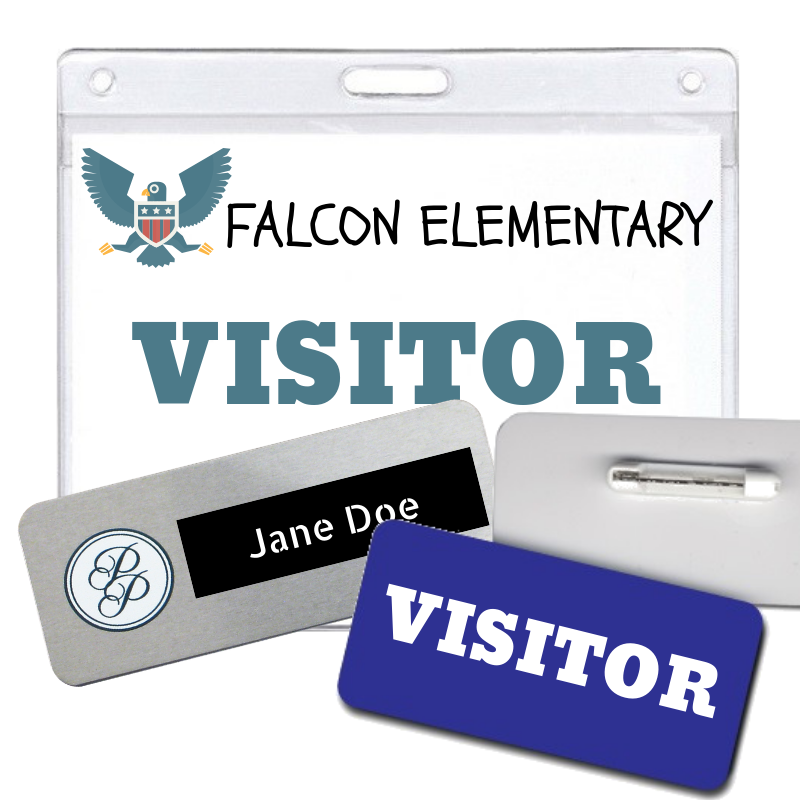 Visitor ID Badges and You | Personalized Products, Coller
