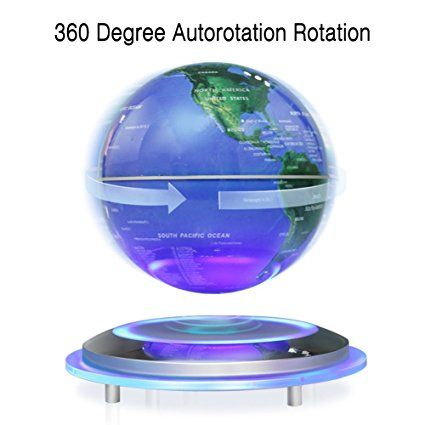 Magnetic levitation floating globe 6 self rotating ball anti magnetic levitation floating globe 6 self rotating ball anti gravity led illuminated gumiabroncs