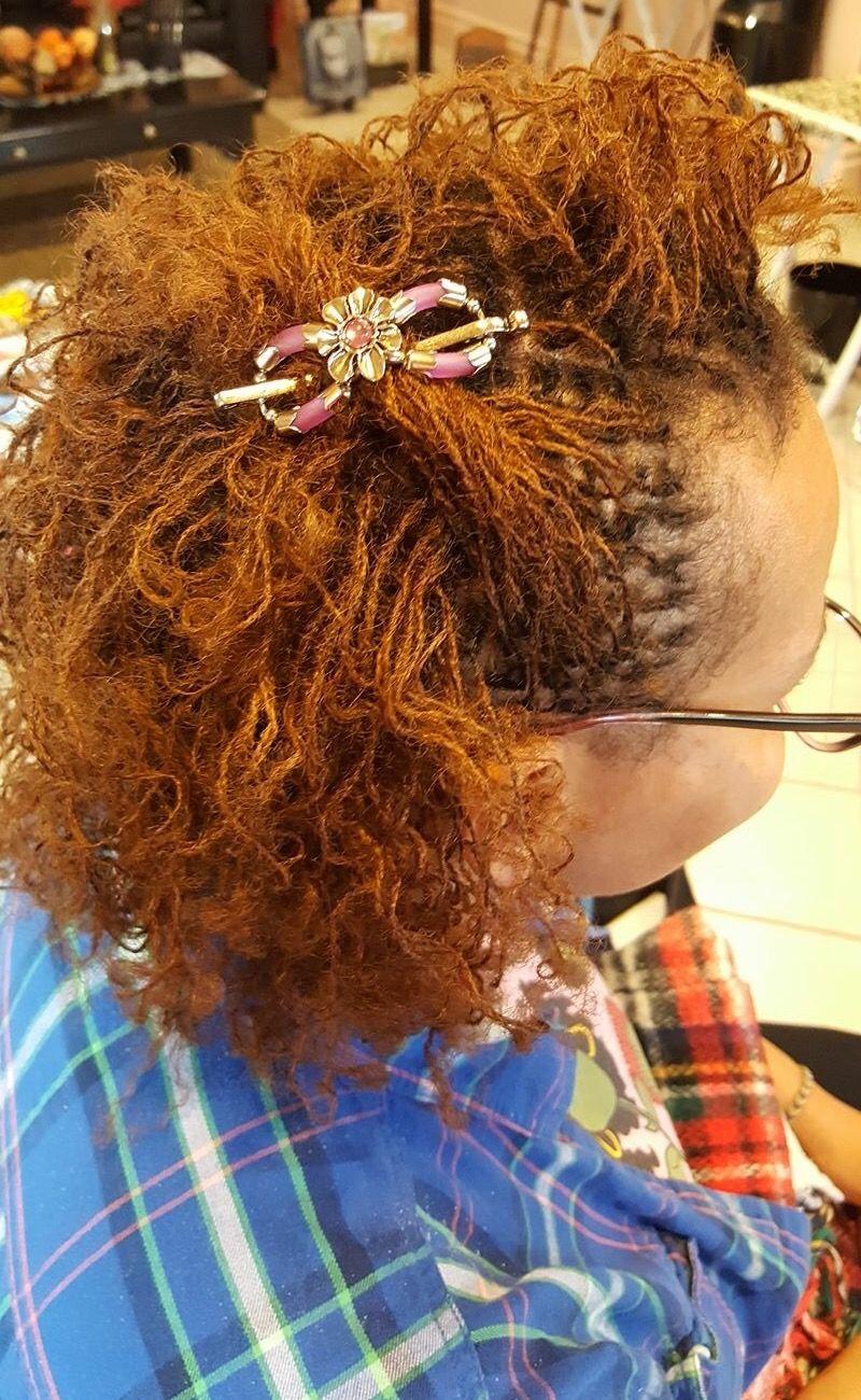 Vanda Flexi Hair Clip In Sisterlocks Substantial Strands In 2018
