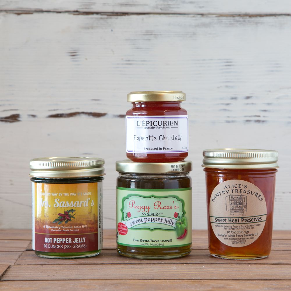 50 Fab Summer Finds Under 50: Pepper Jelly Gift Set. Once Upon A Time, Some Brave Soul
