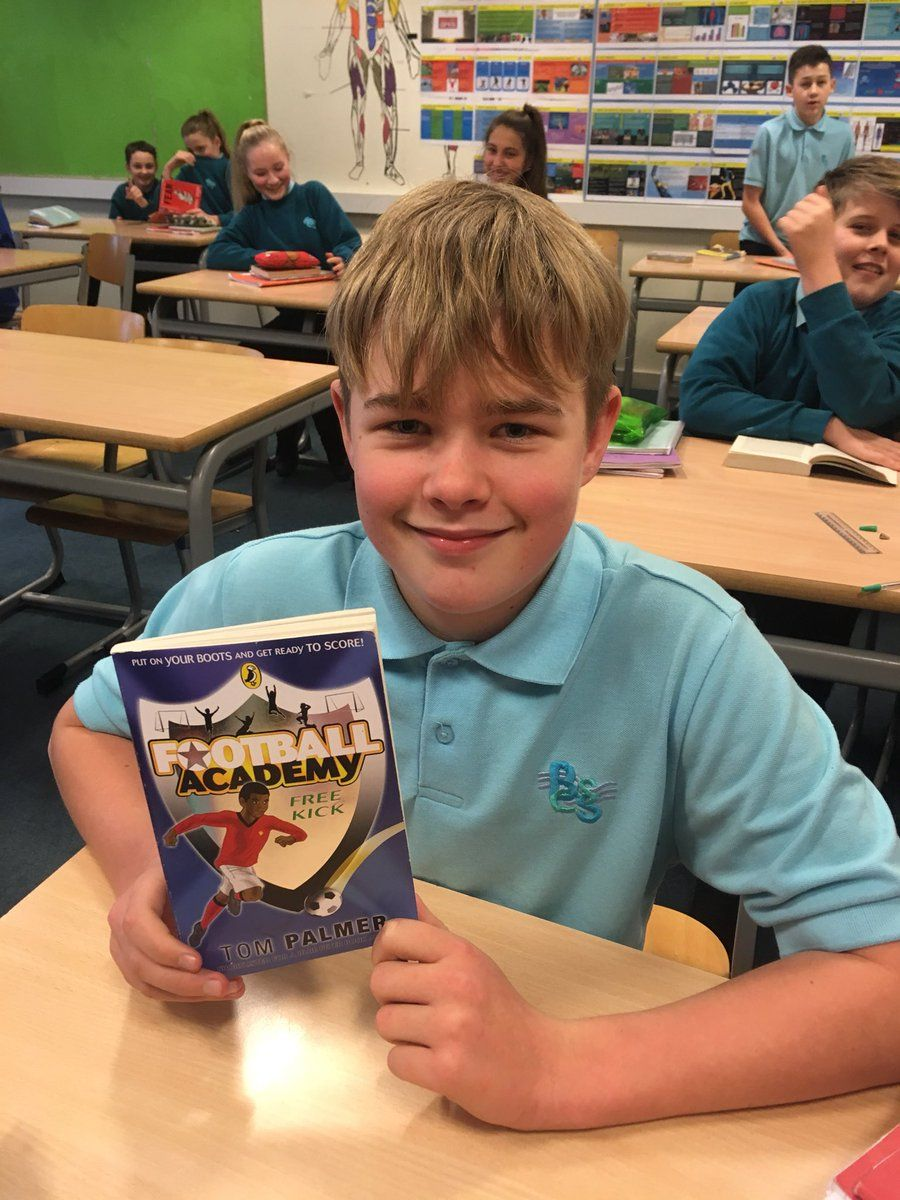 """BSCS PE on Twitter: """"Hi, @tompalmerauthor After meeting you @ashtongatestad , Joe has been out and bought some books! https://t.co/UwGrjAYHzA"""""""