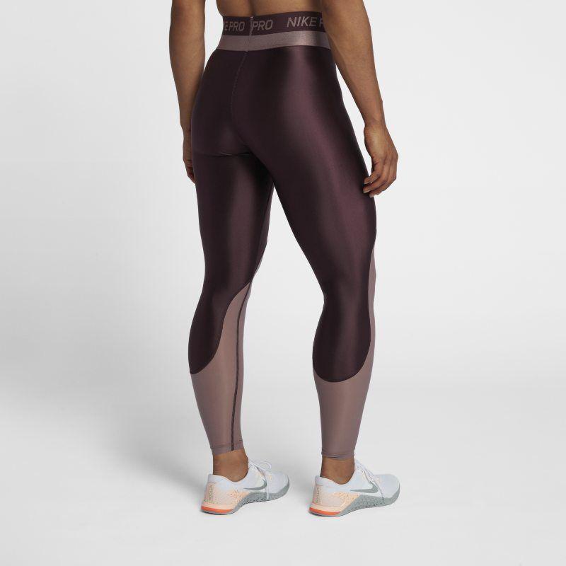 5ea1697920287c Nike Pro HyperCool Women's Mid-Rise Training Tights - Black ...