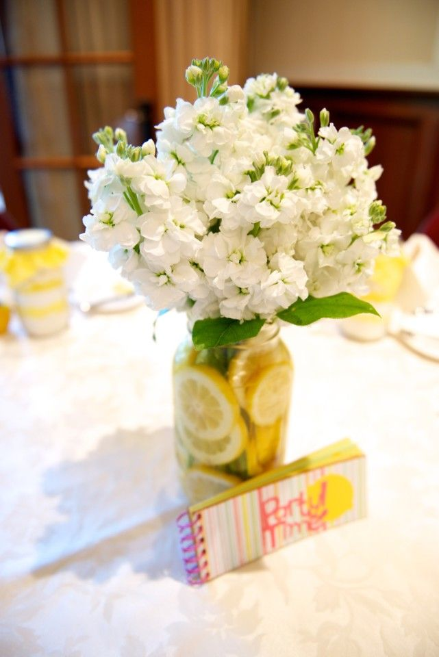 Beautiful Table Decor With Lemons Royal Park Event Style