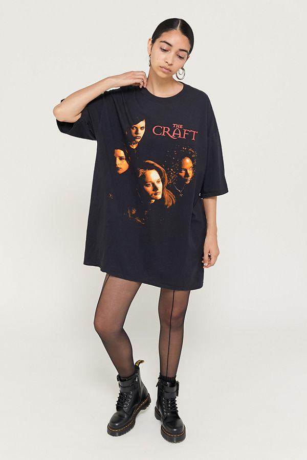 WOMENS LADIES LITTLE BLACK DRESS PRINT LONG OVERSIZED T-SHIRT DRESS BAGGY TOP