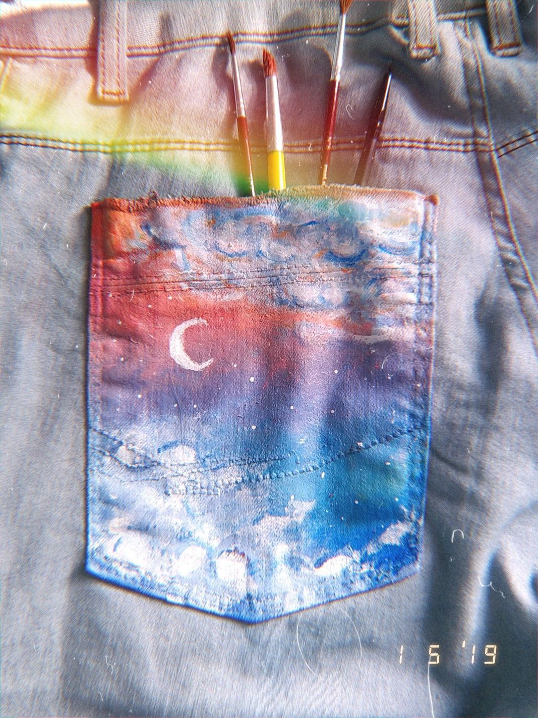 Painted pocket : ? #Painted #pocket