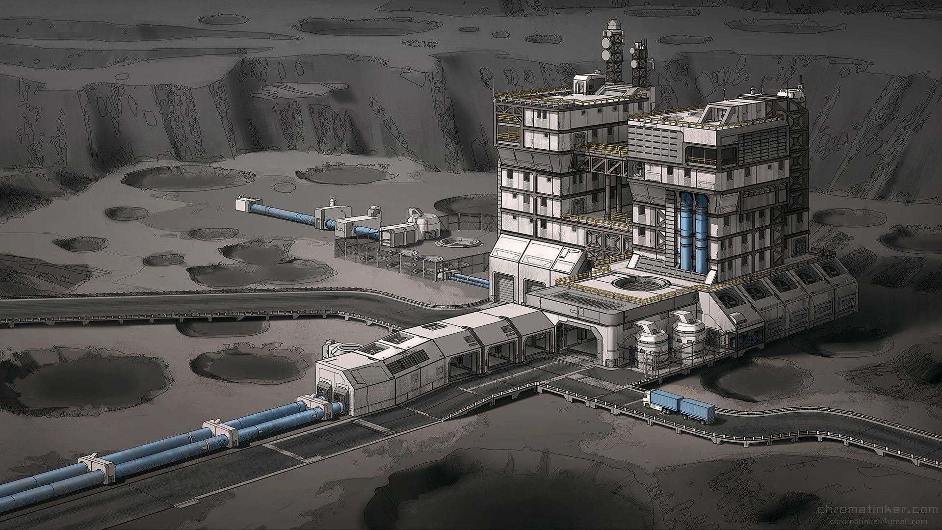 ArtStation - Exoplanet Factory, Adam Taylor   Of Mythic ...