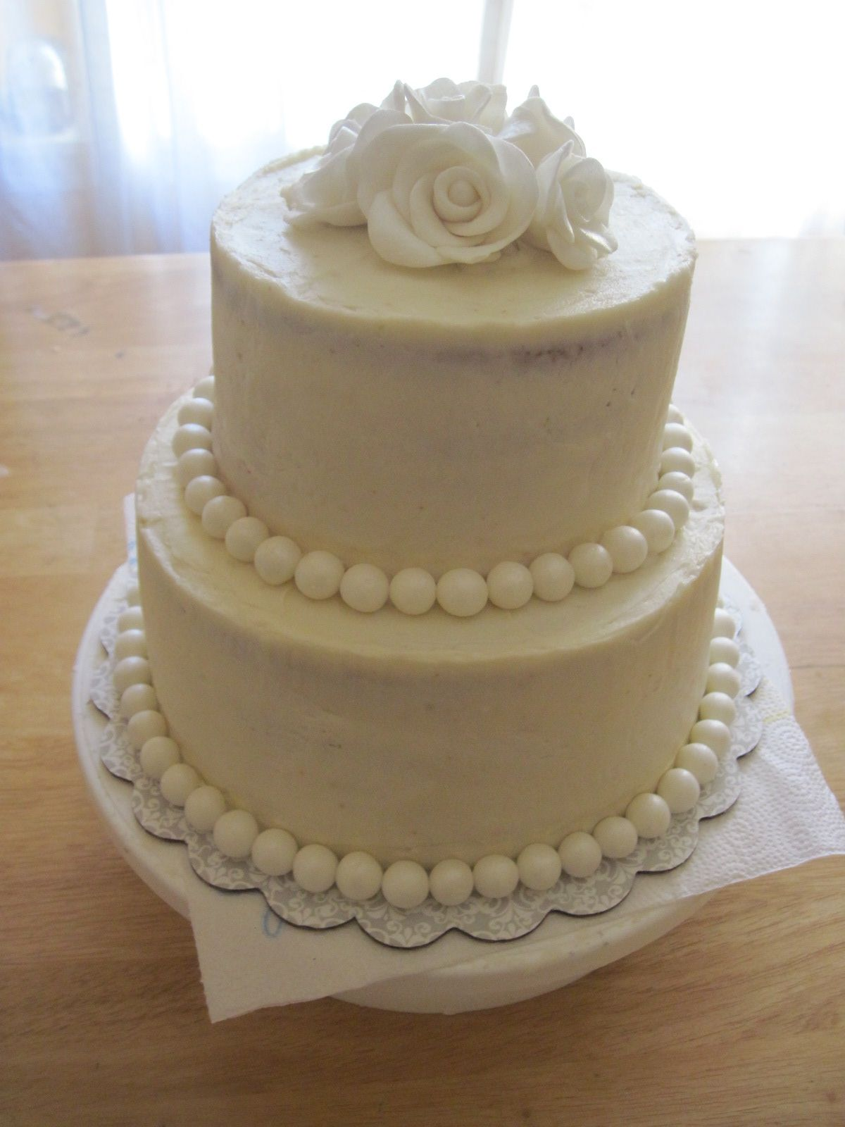 50th wedding decorations ideas  th Wedding Anniversary Cake for my friendus parents  Cakes