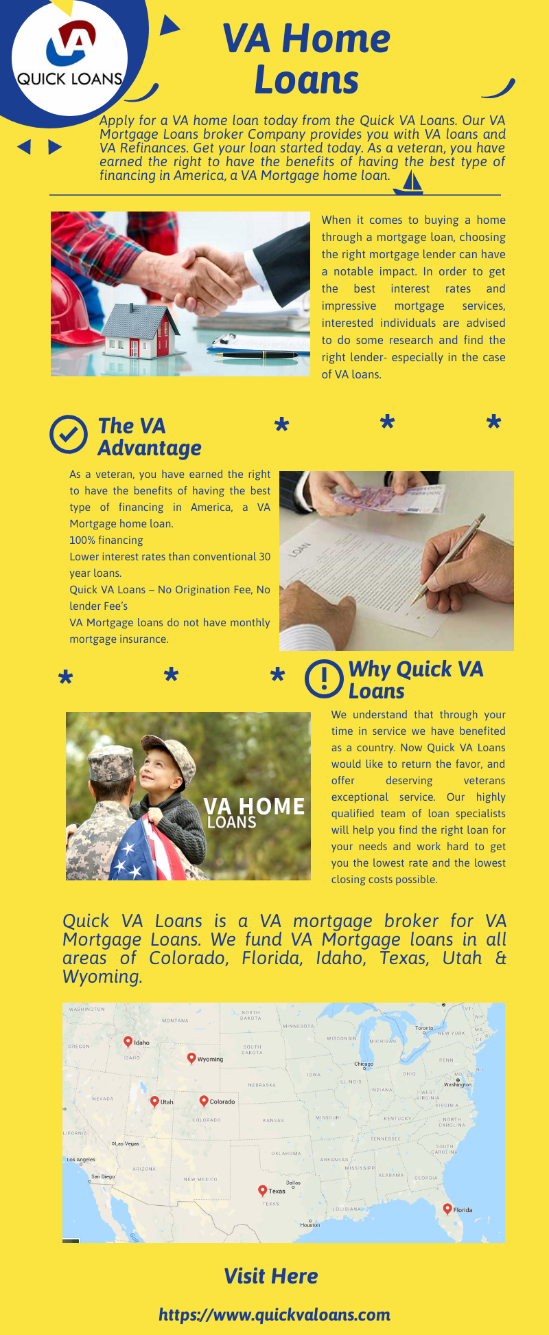 We Quick Va Loans Are An Experienced And Reputed Va Home Loan