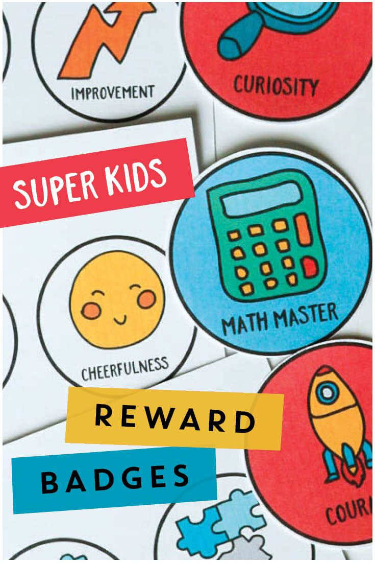 Super Kids Reward Badges | Pinterest | Classroom management, Badges ...