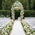 50 x 3 ft Wedding Aisle Runner White Aisle Runner with Pull String for Wedding #Wedding Supplies