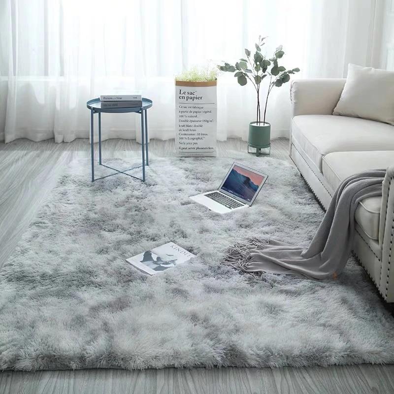 Archi Fluffy Faux Living Room Rug Modern Hot Living Room Ideas Rugs In Living Room Furry Rugs Living Room Carpet