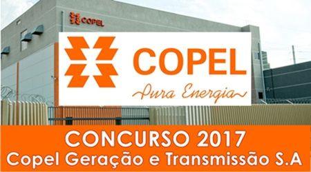 A Copel Geração e Transmissão S.A. - COPEL, anunciou por meio do Diário Oficial da União a contratação de empresa responsável pelo planejamento e execução de novo Concurso Público em 2017.