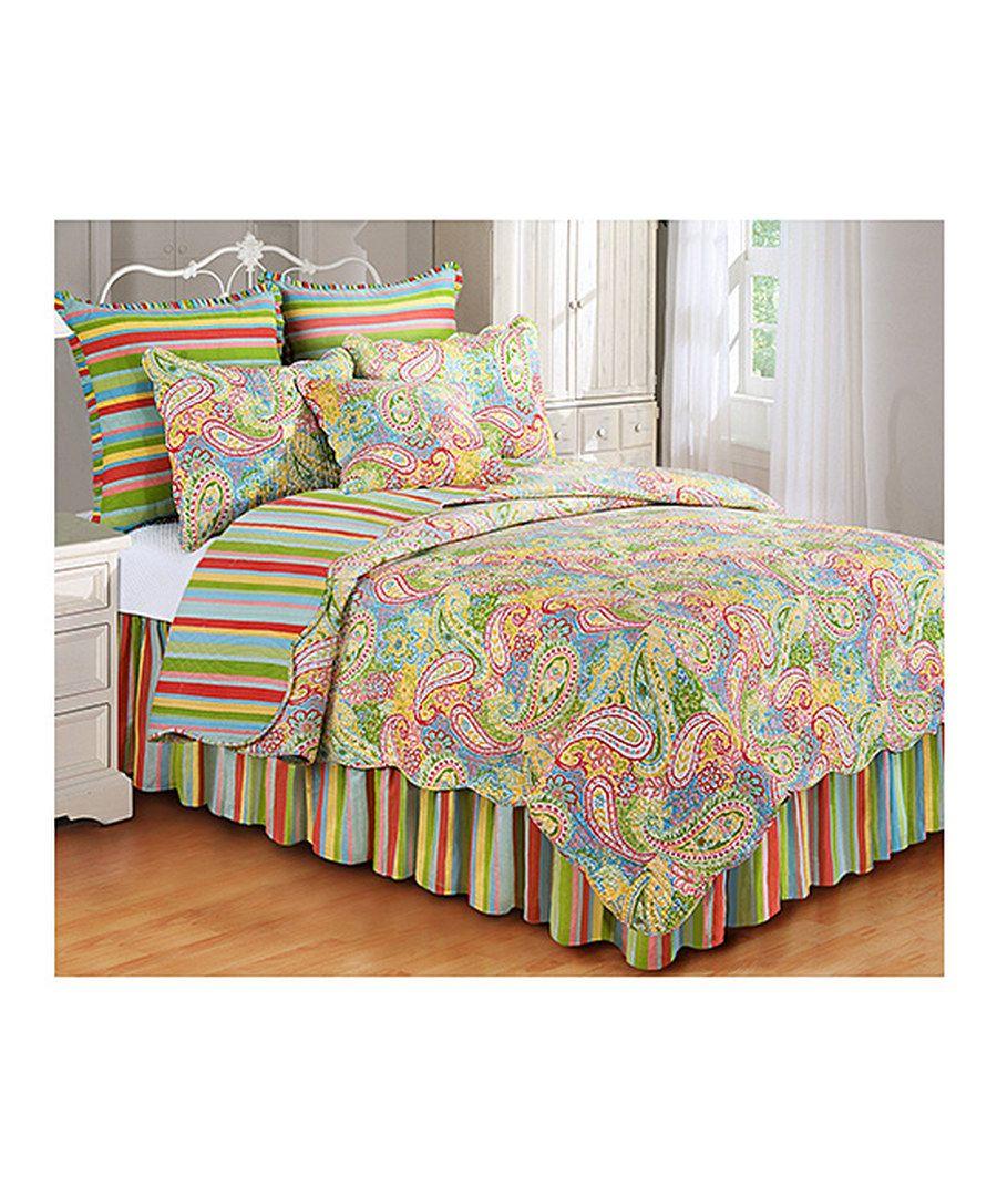 set amazon quilts home gl ca sunset greenland kitchen paisley piece quilt dp