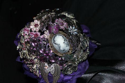 My wonderful Gothic Broochebouquet. Brooches, Brooch Bouquet. Broschenbouquet