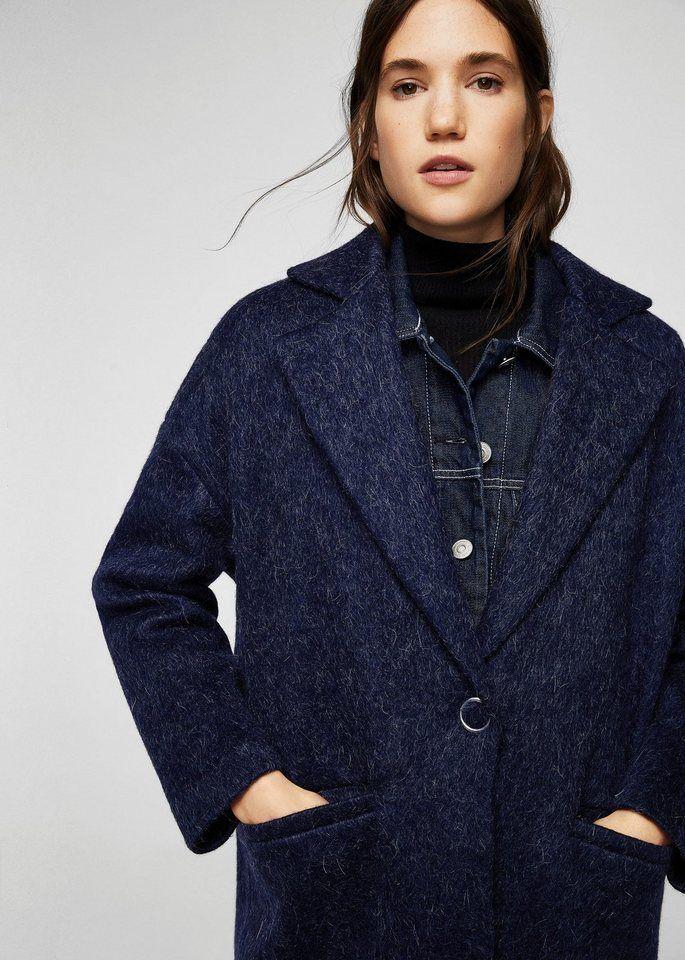 Mantel aus mohair