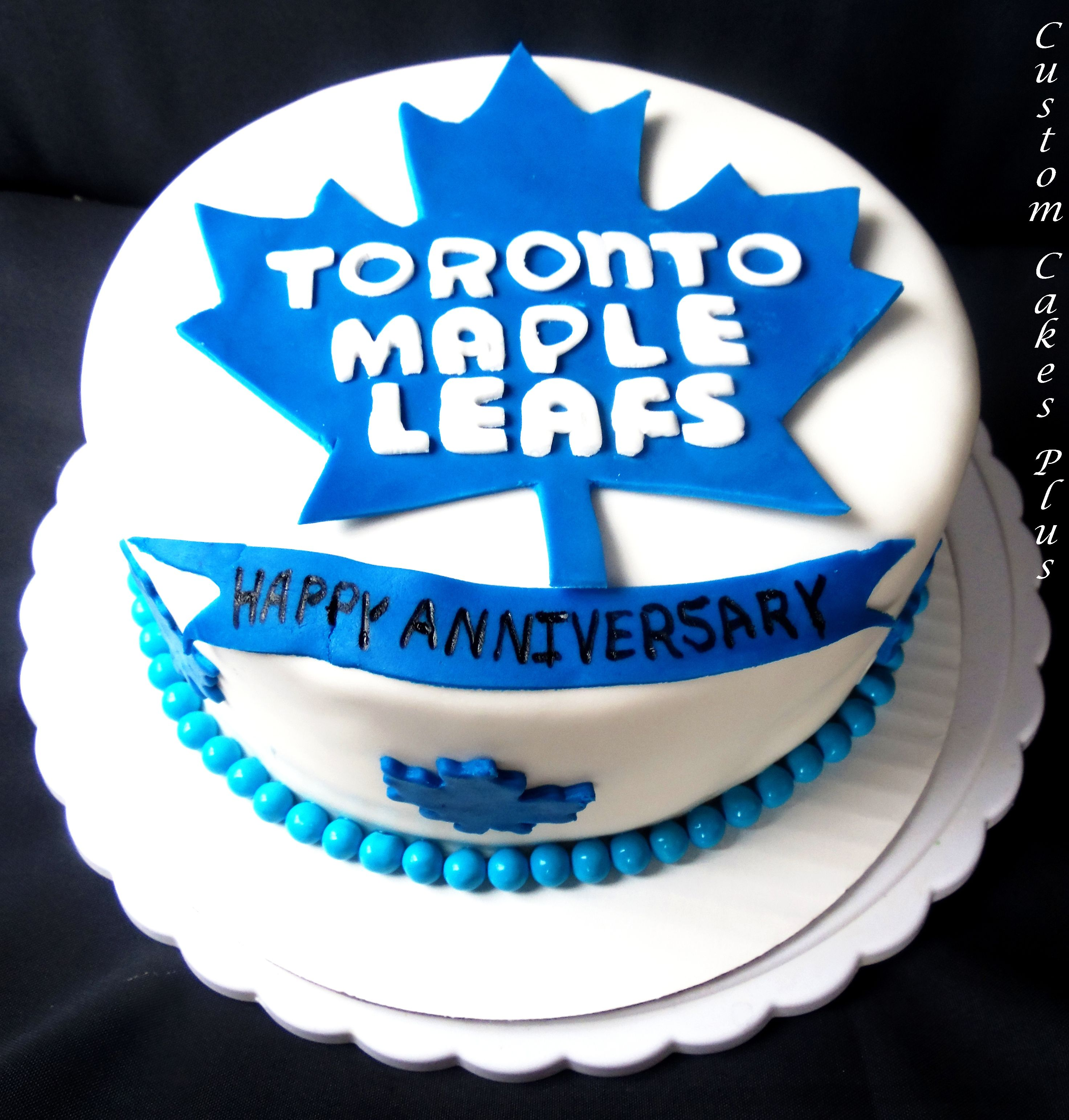 Toronto Maple Leafs Cake Custom Cakes Pinterest Toronto Maple
