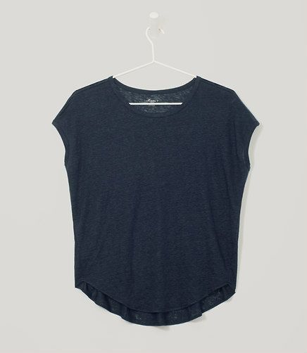 Would go great with leather leggings from last box - linen tee.