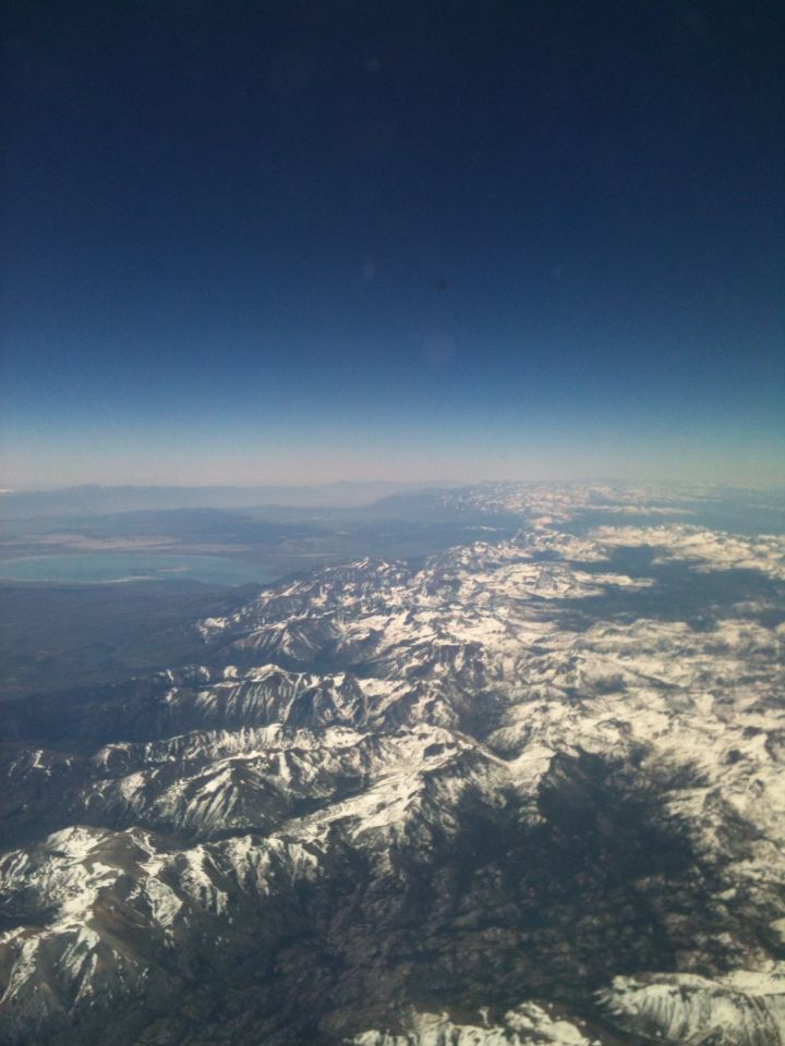 Between Reno and Las Vegas!!