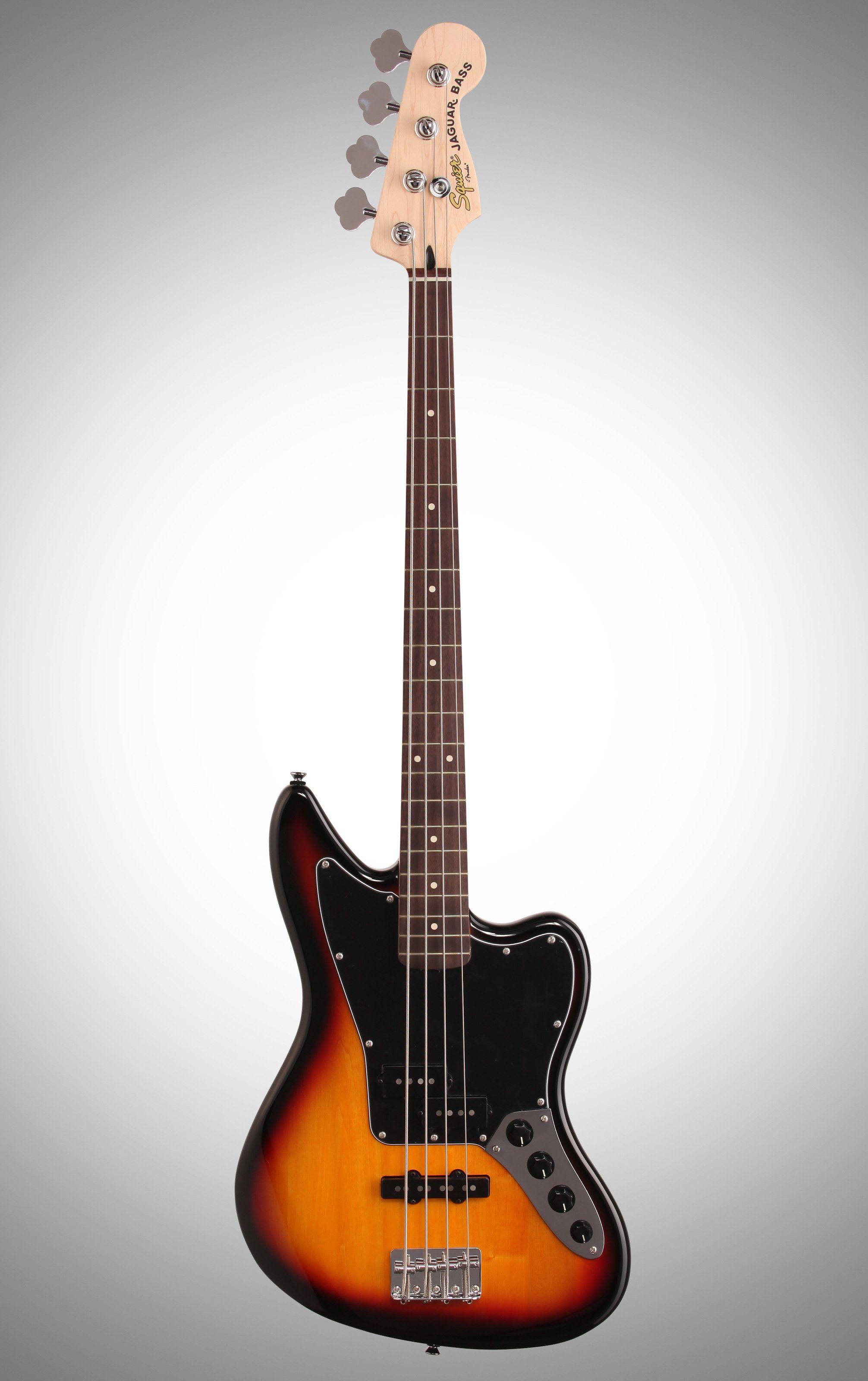 Squier Vintage Modified Jaguar Special Electric Bass, 3-Color Sunburst