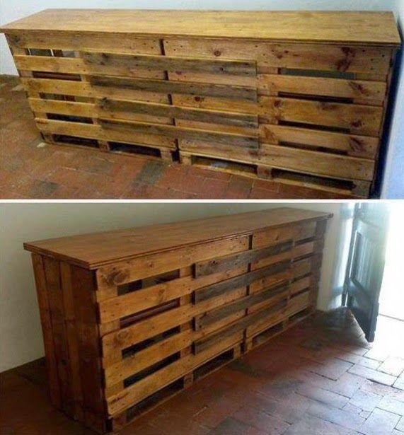 mas ideas para reciclar palets muebles