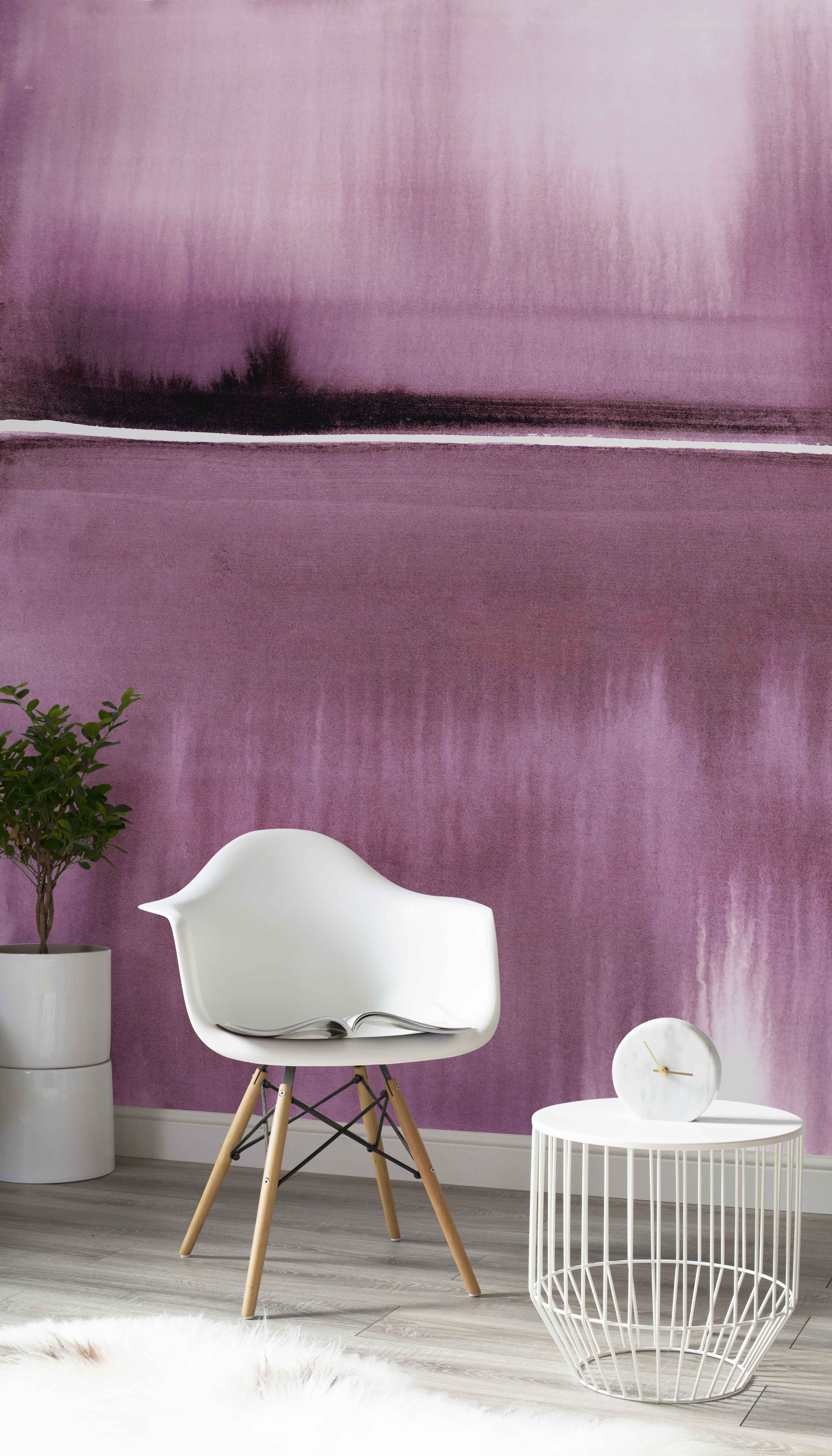 Stylish purple wallpapers for your home Purple wallpaper