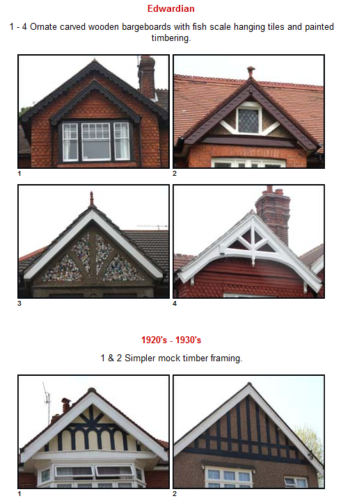 Edwardian Gables typical of Federation houses | Interior & Exterior ...