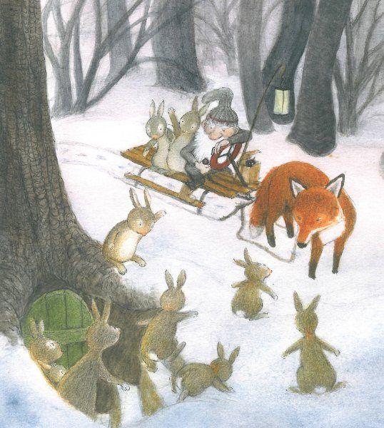 Weihnachtsgeschichte Tiere Im Wald