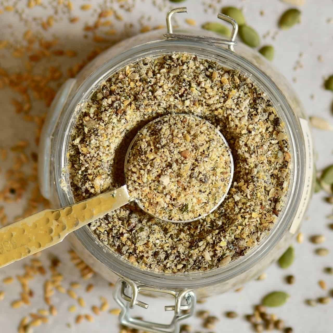 5-Seed DIY Vegan Protein Powder / Blend - Alphafoodie