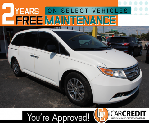 Used Vehicles For Sale In Tampa Fl Car Credit Tampa Cars For Sale Used Used Cars 2012 Honda Odyssey