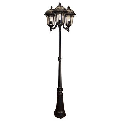 Special Lite Products Rose Garden 3 Light Post Lantern French Lamp Post Lamp Post Lights Lantern Post