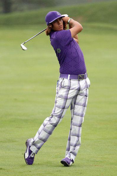 e02ce643e1f For the golf course  Bold Rickie Fowler colors