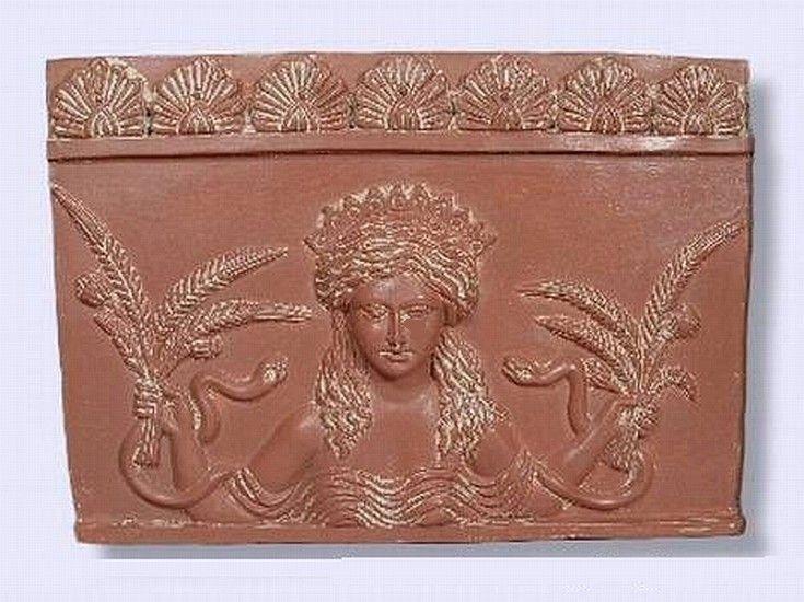 Goddess Ceres Plaque