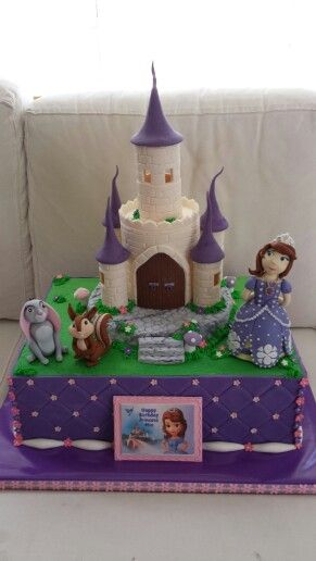 Princess sofia birthday cake Cake That I Made Pinterest Sofia