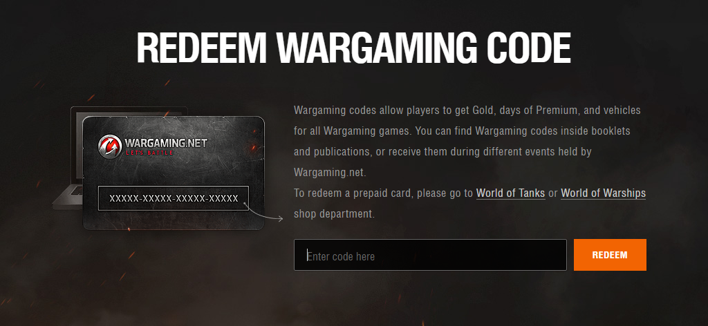 Wargaming Invite Codes Can Only Be Used When Creating A New Account Allow For 24h Delivery Processing Time How To Redeem A Wargami World Of Tanks Coding Invitations