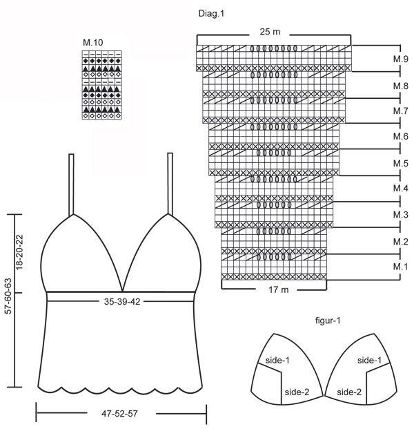 Único Los Patrones De Crochet Libres Con Instrucciones Elaboración ...