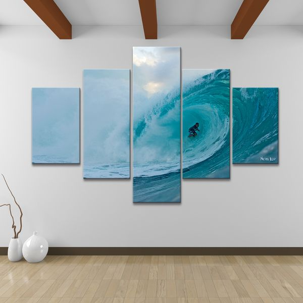 Nicola Lugo u0027Surfu0027 Canvas Wall Art (5-piece) : surf wall art - www.pureclipart.com
