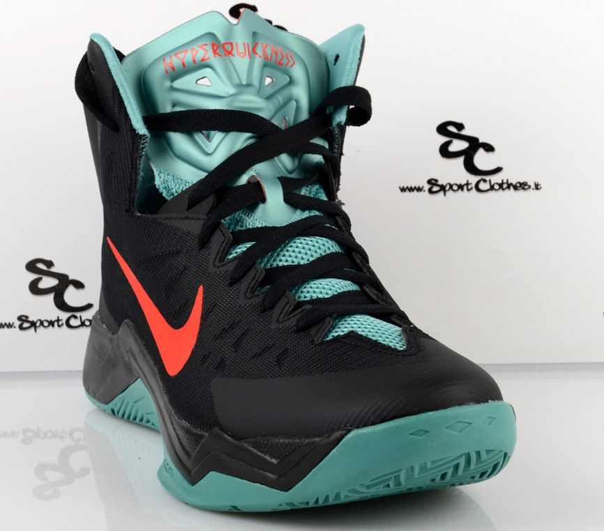 Nike Zoom Hyperquickness - Shoes Basketball - SIL.