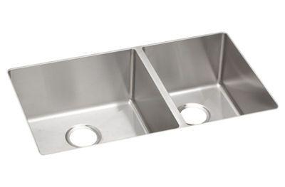 elkay crosstown stainless steel double bowl undermount sink rh pinterest com