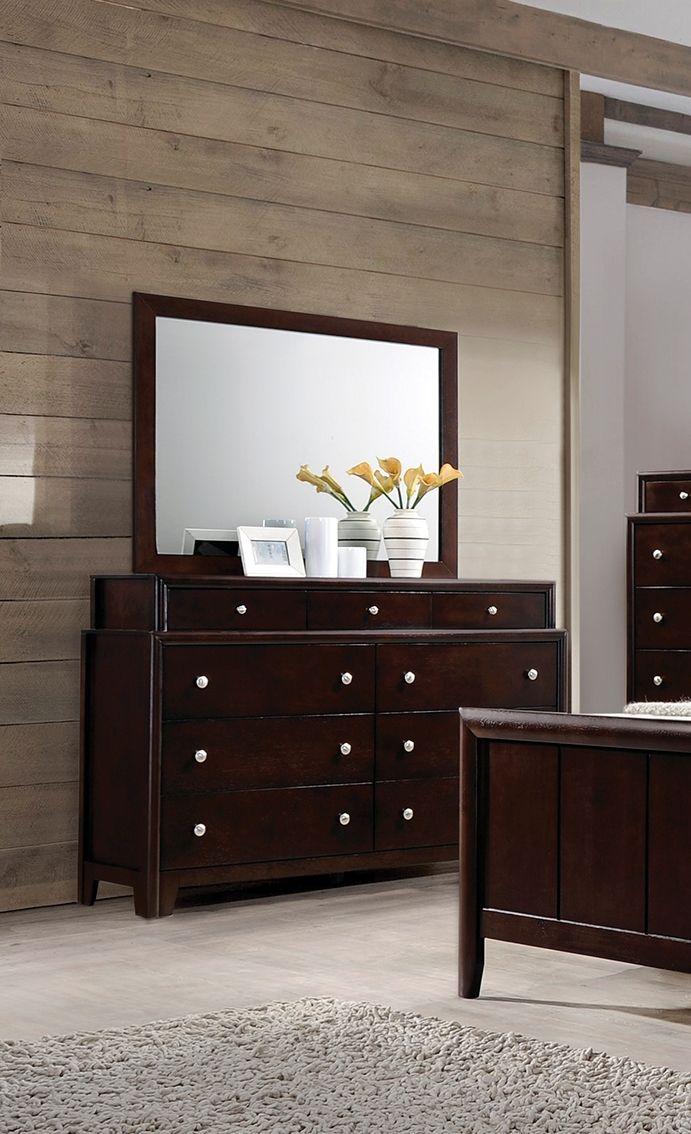 Coaster Furniture Madison Dresser and Mirror Furniture